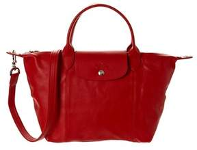 Longchamp Le Pliage Cuir Small Leather Top Handle. - 045 - STYLE