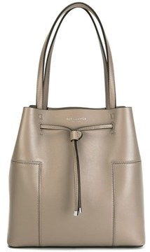 Tory Burch Women's Grey Leather Shoulder Bag. - GREY - STYLE