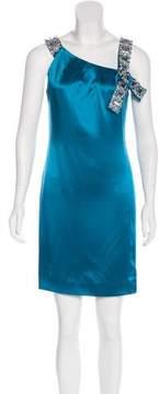 Christian Dior Silk Embellished Dress