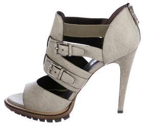 Belstaff Leather Cage Sandals w/ Tags