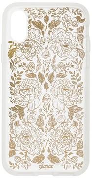 Sonix Secret Garden Print Iphone X Case - Metallic