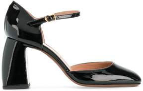 L'Autre Chose curved heel sandals