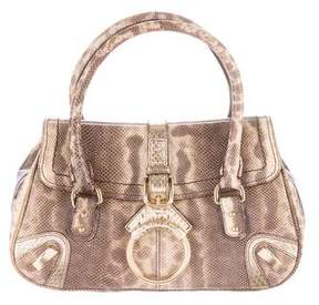 Dolce & Gabbana Lizard Handle Bag - ANIMAL PRINT - STYLE