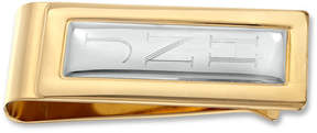Zales Two-Tone Engraved Money Clip (1-3 Initials)