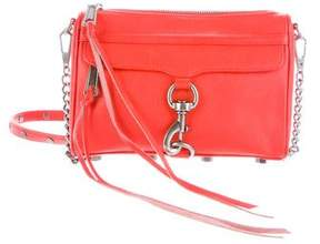 Rebecca Minkoff Leather M.A.C. Crossbody Bag - ORANGE - STYLE