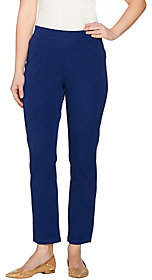 C. Wonder Stretch Twill Pull-On Ankle Pants