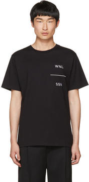 Public School Black WNL Grohl T-Shirt
