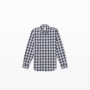 Club Monaco Slim-Fit BD Large Plaid Shirt