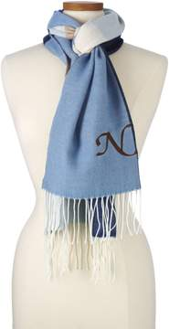 Lands' End Lands'end Women's Luxetouch Colorblock Scarf