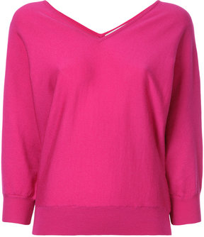 ESTNATION V-neck jumper