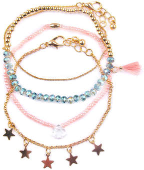 Arizona Womens 4-pc. Bracelet Set