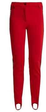 Fendi High-rise stirrup-hem ski trousers