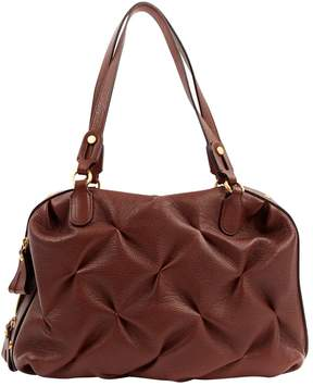 Smythson Brown Leather Handbag