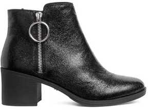 H&M Ankle Boots with Zip