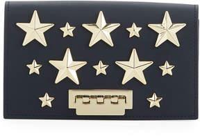 Zac Posen Earthette Stars Crossbody Bag, Navy