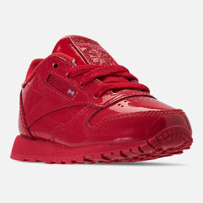 Reebok Girls' Toddler Classic Leather Casual Shoes