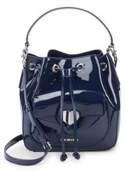 Love Moschino Faux Leather Bucket Bag