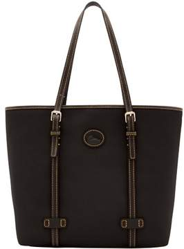 Dooney & Bourke Nylon East West Shopper Tote - BLACK BLACK - STYLE