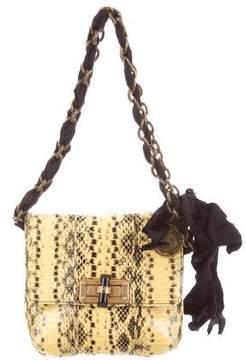 Lanvin Mini Python Happy Bag