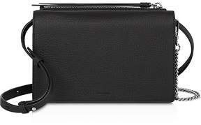 AllSaints Fetch Large Leather Chain Wallet Crossbody