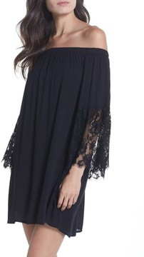 Chelsea28 Women's Off The Shoulder Cover-Up Dress