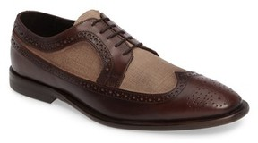 Kenneth Cole New York Men's Super Hero Two-Tone Wingtip