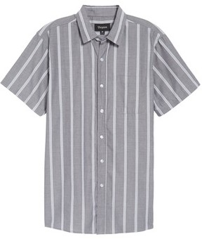 Brixton Men's Decca Stripe Woven Shirt