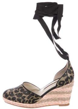 Sophia Webster Wrap-Around Espadrille Wedges