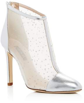Sarah Jessica Parker Women's High Wire Glitter Mesh High-Heel Booties - 100% Exclusive