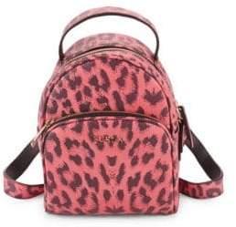 Furla Printed Mini Leather Backpack