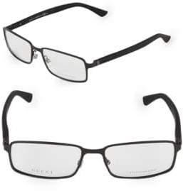 Gucci 52MM Rectangle Optical Glasses
