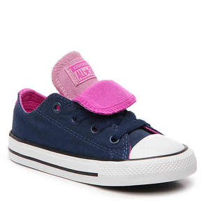Converse Chuck Taylor All Star Double Tongue Infant & Toddler Sneaker - Girl's