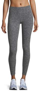Beyond Yoga Cross It Back Space-Dye Midi Leggings
