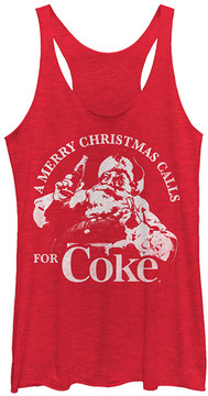 Fifth Sun Heather Red 'Calls For Coke' Racerback Tank - Men