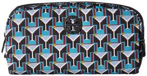 Tory Burch Printed Nylon Cosmetic Case Cosmetic Case