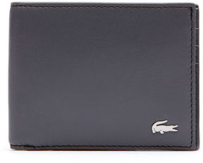 Lacoste Men's Fg Billfold In Leather With Id Card Holder