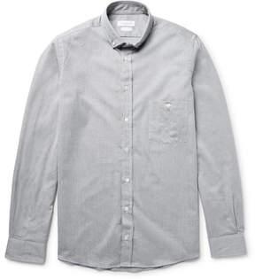 Richard James Slim-Fit Button-Down Collar Cotton-Chambray Shirt
