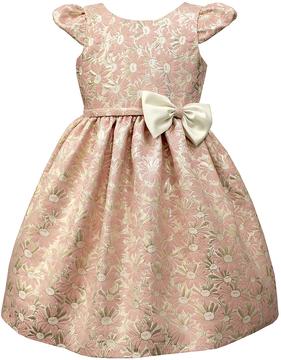 Jayne Copeland Floral Brocade Dress