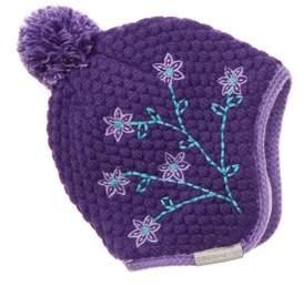 Obermeyer Girls' Flower Pop Knit Hat.