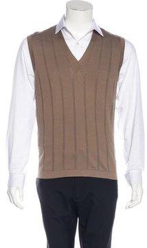 Cruciani Woven Sweater Vest w/ Tags