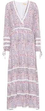 Melissa Odabash Kristen printed maxi dress