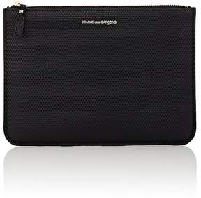 Comme des Garcons Men's Luxury Large Zip Pouch