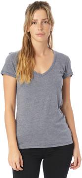 Alternative Apparel Keepsake Vintage Jersey V-Neck T-Shirt