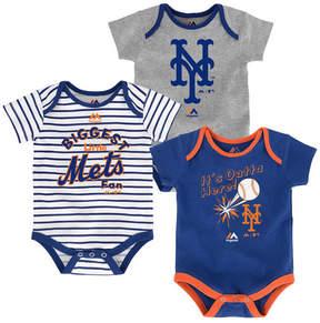 Majestic New York Mets Homerun 3-Piece Set, Baby Boy (12-18 months)