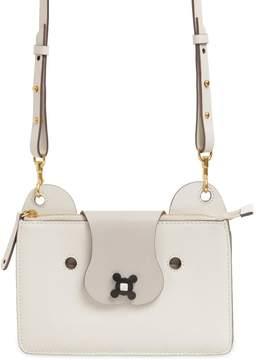 Anya Hindmarch Husky Leather Crossbody Bag