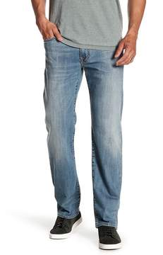 Lucky Brand Washed Straight Leg Jeans
