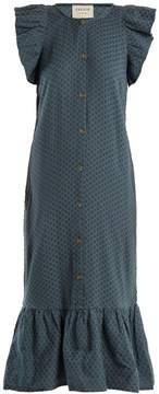 DAY Birger et Mikkelsen CECILIE COPENHAGEN Jehro scarf-jacquard cotton dress