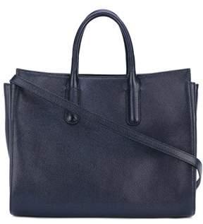 Max Mara Women's Blue Leather Handbag.