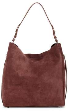 AllSaints Paradise North/South Suede Tote