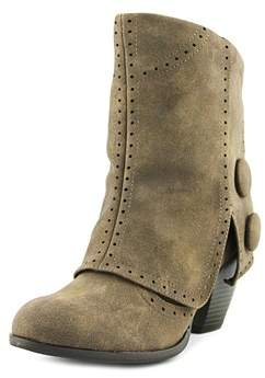 Not Rated Carolina Women Round Toe Synthetic Brown Ankle Boot.